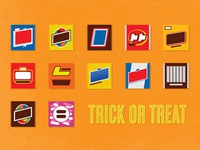 Thurs1142 candy halloween illustration