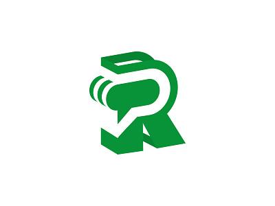 R Brandmark angled perspective letter rotterdam brandmark mark stories r
