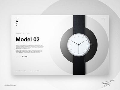 Golden Ratio Website Design   TYME (UI Design in Sketch #07)
