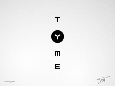 Golden Ratio Logo Design   TYME (UI Design in Sketch #07)