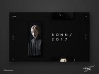 Photo Portfolio Website Design | OTO (UI Design in Sketch #13)
