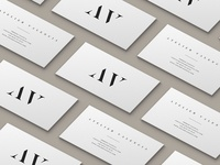 Atelier Valencia - Business Card Design