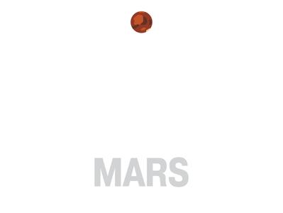 Mars — Solar System Notebook Set mars notebook illustration astronomy solar system notebooks