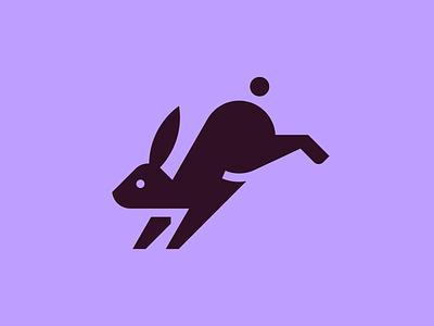 Rabbit bunny rabbit animal symbol iconic pictogram picto icon design icon