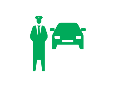 Do you need a car? person. human chauffeur taxi cab graphic design transportation vehicle car illustration picto icon design icon