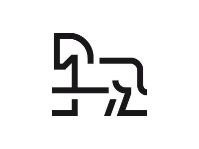 Horse Icon Design picto horse outline line animal glyph iconography pictogram icondesign iconset icons icon