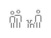 Human Line Icons