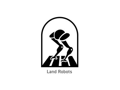 OSU Robotics - Land Robots badges illustration logo branding design