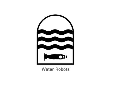 OSU Robotics - Water Robots Badges logo illustration badges branding design