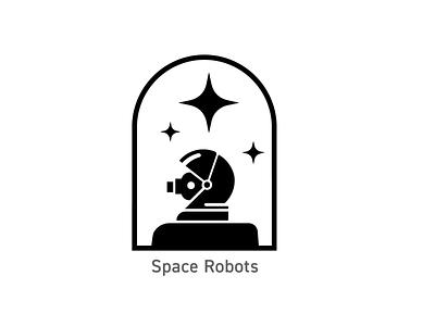 OSU Robotics - Space Robot Badge logo illustration badges branding design