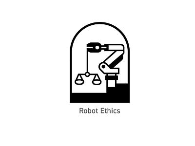 OSU Robotics - Robot Ethics Badge logo illustration badges branding design