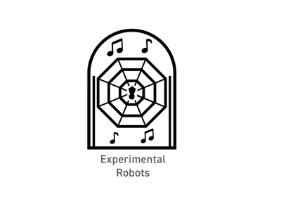 OSU Robotics - Experimental Robots Badges logo illustration badges branding design