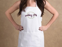 Valley Pies Logo in Apron