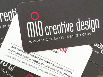 Mio Creative Design Business Cards businesscards design miocreativedesign