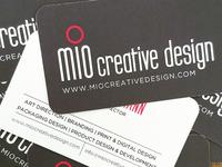 Mio Creative Design Business Cards