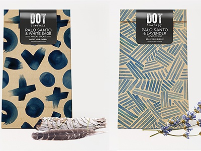 Dot Therapy Palo Santo Packaging dotherapy packaging palosanto