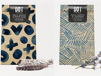 Dot Therapy Palo Santo Packaging