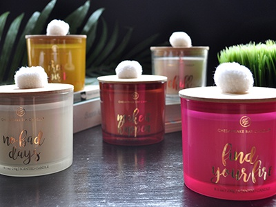 2018 Candle Collection summercollection target miocreativedesign design packaging candles