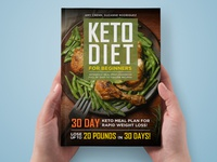 Keto Diet For Beginners Ebook Cover
