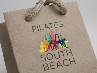 Pilates South Beach Bag logo designer logo design brandingdesign branding graphicdesign logodesign logo