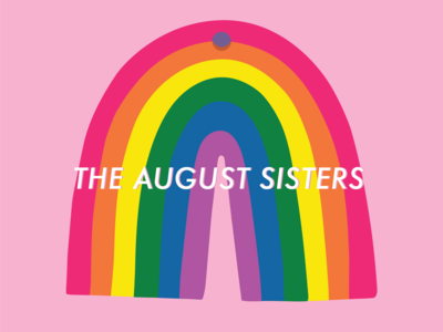 THE AUGUST SISTERS: business card design