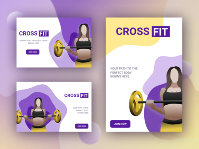 CrossFit illustration banner