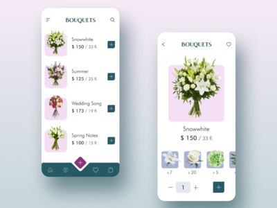 Flowers buying Mobile App