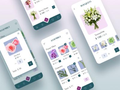 Flower buying Mobile App