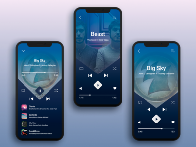 Audio player design