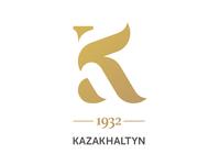 logo development for a gold mining company KAZAKHALTYN
