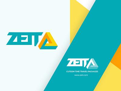 Zeit Logo company concept travel branding ux ui time travel logo