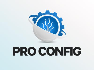 Pro Config - Logo Design