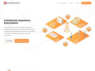 DMS Block theme design concept website design design creative design brand identity