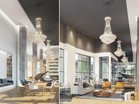 Lobby 3D Renderings:  Halycon