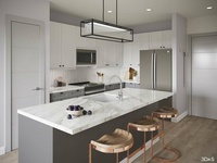 Kitchen 3d Rendering Elan Halycon