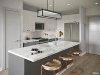 Kitchen 3d Rendering Elan Halycon