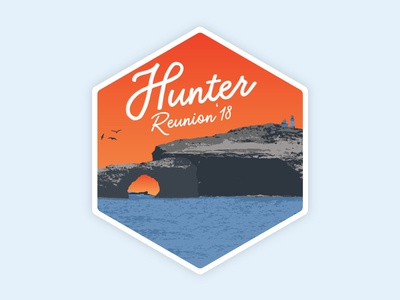 Logo Hunter Reunion 2 Hexagon
