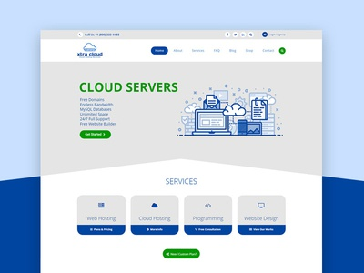 Wordpress Hosting theme