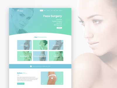 Plastic surgery wordpress theme ‌