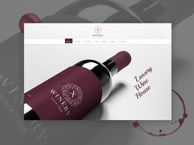 Wine and Winery wordpress theme
