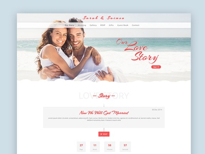 Wedding wordpress theme ‌