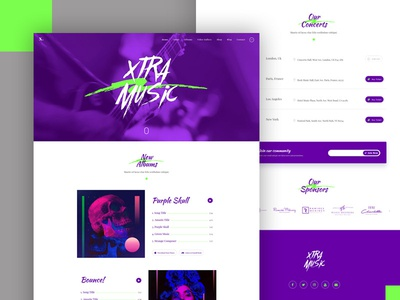 Music and band wordpress theme