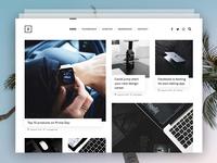 Personal Minimal Blog
