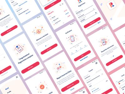 Banking App Design Rado