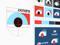 Brand identity for a OOMPH