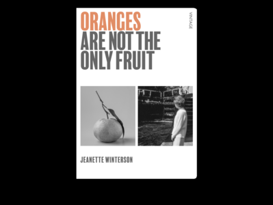 Book Cover Challange - Oranges are Not the Only Fruit