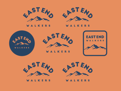 East End Walkers Branding