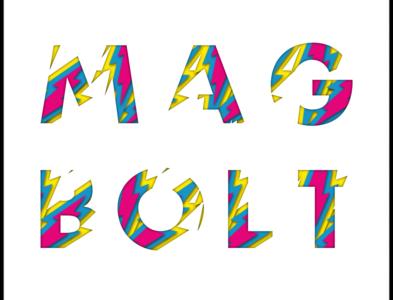Mag Bolt! poster art vector illustration design