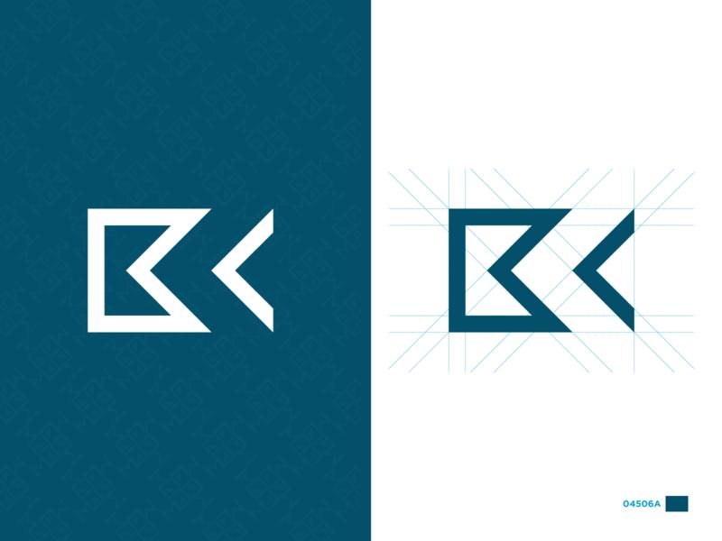 BC Personal Logo branding simple monogram identity flat dark vector logo illustration design