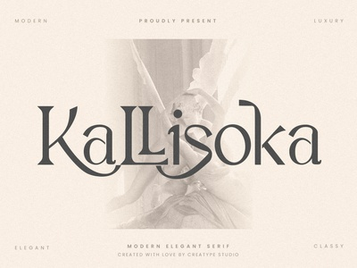 Kallisoka Modern Elegant Serif sans-serif